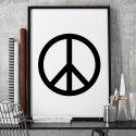 PEACE - Plakat designerski