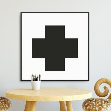 LITTLE CROSS - Plakat dla dzieci
