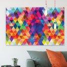 Designerski obraz na płótnie - Abstract Triangle-Design