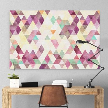 Modny obraz na płótnie - Artistic Triangle