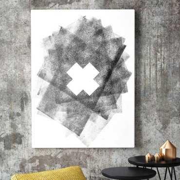 Modny obraz na płótnie - Cross Design
