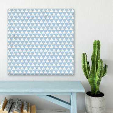 Modny obraz na płótnie - Blue Triangle