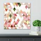 Modny obraz na płótnie - Geometric Pastel