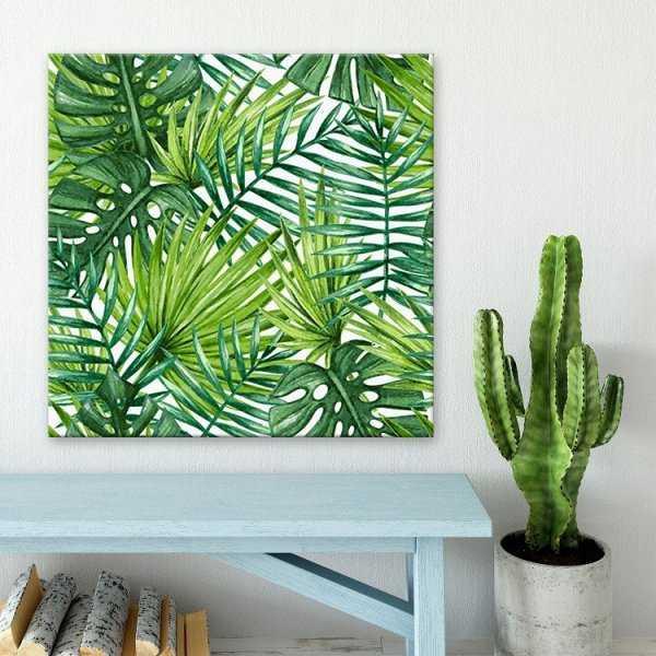 Modny obraz na płótnie - Green Tropic
