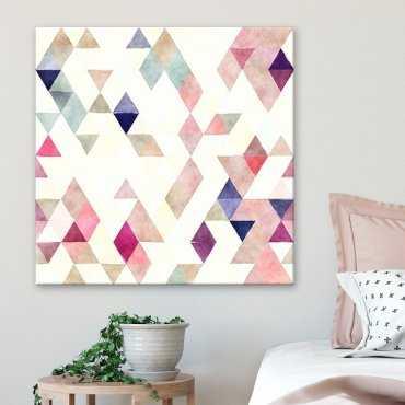Modny obraz na płótnie - Triangular Pastel