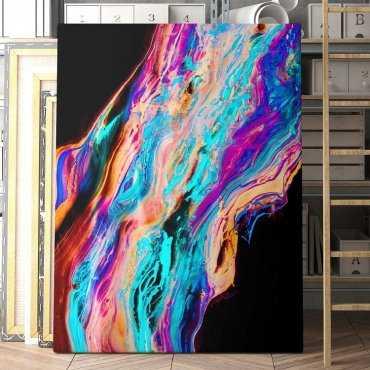 Modny obraz na płótnie - Colourful Lava