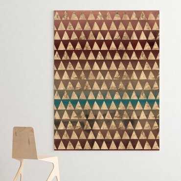 Modny obraz na płótnie - Golden Geometry