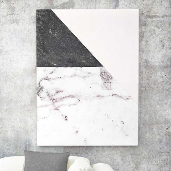 Modny obraz na płótnie - Marble Collage