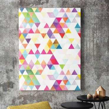 Modny obraz na płótnie - Multicolour Design