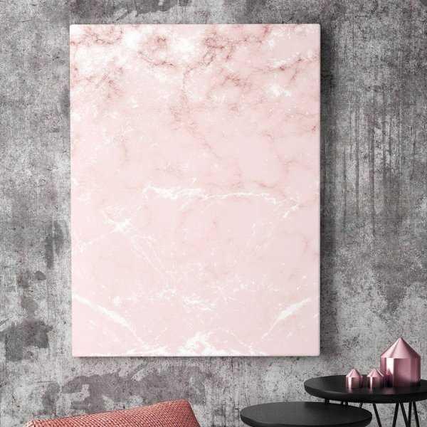 Modny obraz na płótnie - Pink Marble