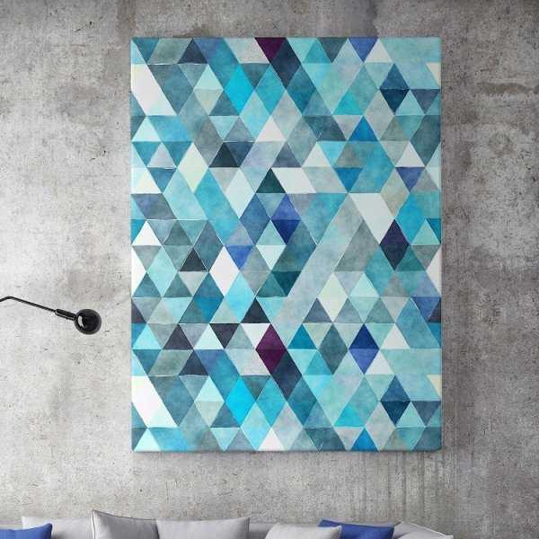 Modny obraz na płótnie - Triangular Ocean