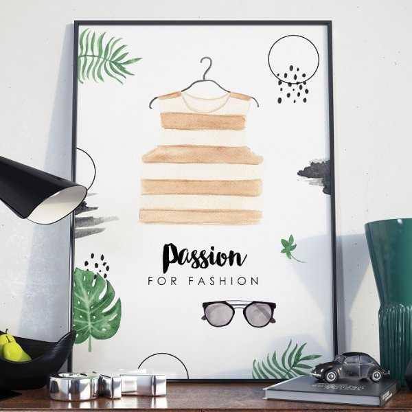Plakat w ramie - Passion For Fashion