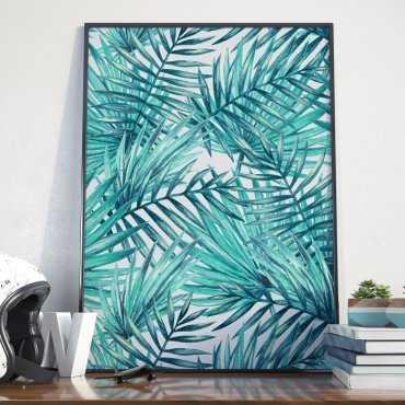 Plakat w ramie - Palm Paradise