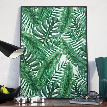Plakat w ramie - Wild Jungle