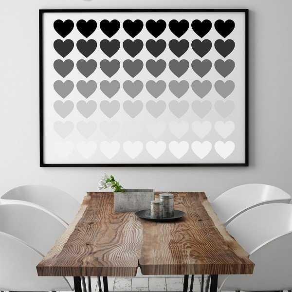 SHADOWHEART - Plakat typograficzny
