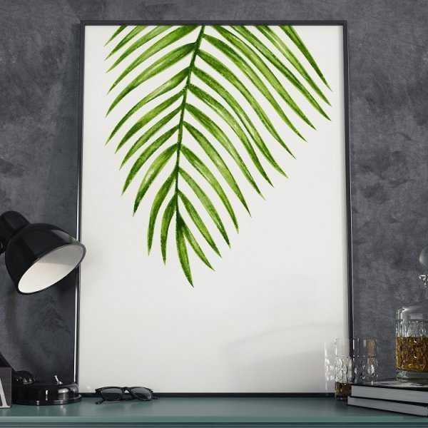 Plakat w ramie - Minimalist Green