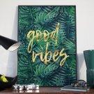 Plakat w ramie - Good Vibes