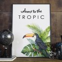Plakat w ramie - Welcome to the tropic