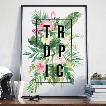 Plakat w ramie - Tropic.