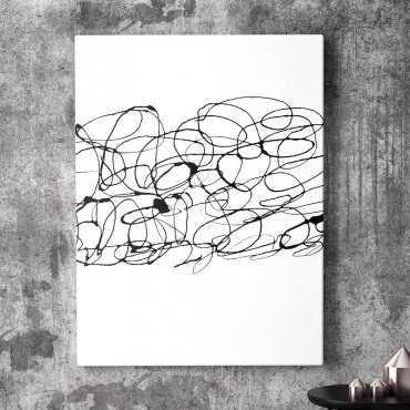 Artystyczny obraz na płótnie - ART CHAOS