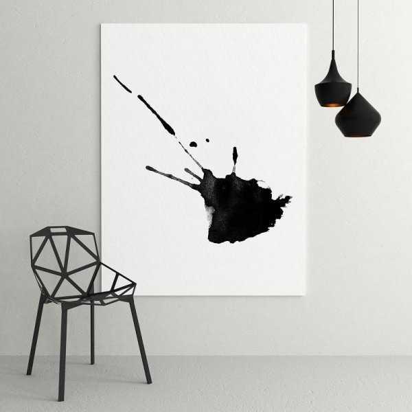 Artystyczny obraz na płótnie - ART SPLATTER