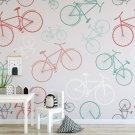 Tapeta dla dzieci - BICYCLE DESIGN