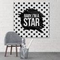 Baby, I'm a Star! - Obraz typograficzny