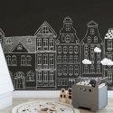 Tapeta dla dzieci - CHALKY CITY