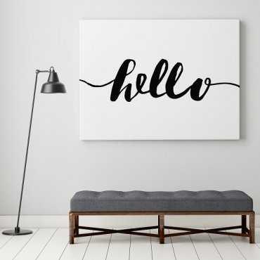 Hello - Obraz w stylu skandynawskim