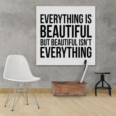 Everything & Beautiful - Obraz typograficzny