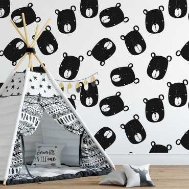 Tapeta dziecięca - SCANDINAVIAN BEARS