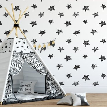 Tapeta dziecięca - LOVELY STARS
