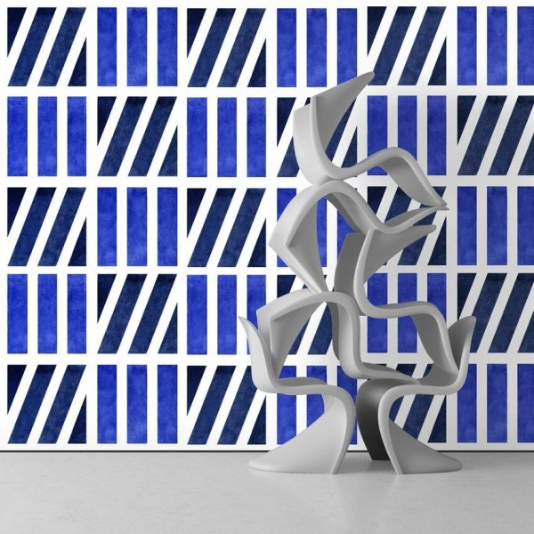 Tapeta na ścianę - BLUE VISION