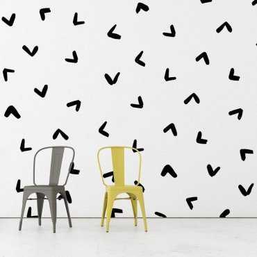 Tapeta na ścianę - Artistic Ticks