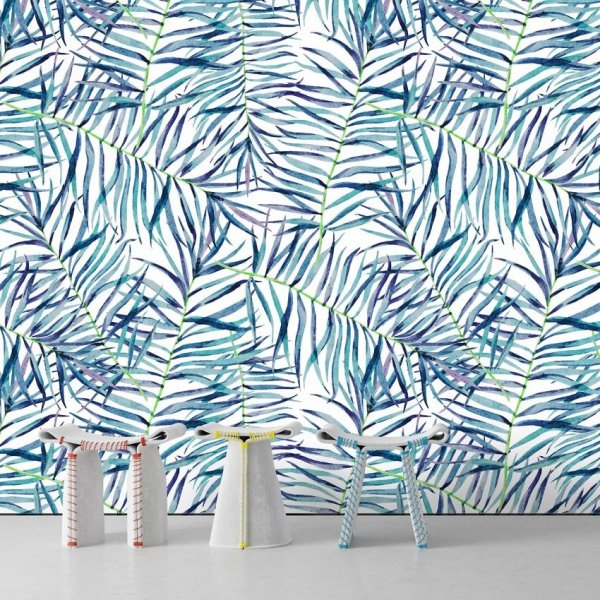 Tapeta na ścianę - Blue Tropicana