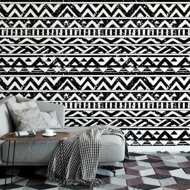 Tapeta na ścianę - Aztec Geometry