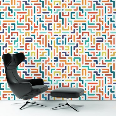 Tapeta na ścianę - Crazy Maze