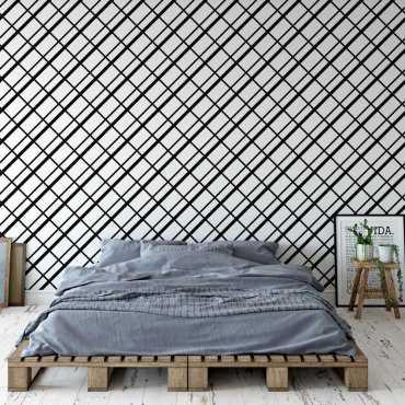 Tapeta na ścianę - Checkered Minimalism