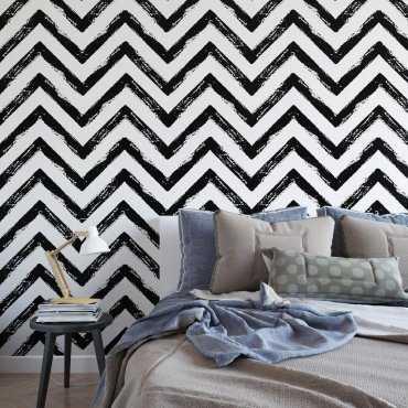 Tapeta na ścianę - Chevron Art