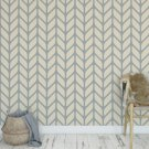 Tapeta na ścianę - Chevron Bamboo