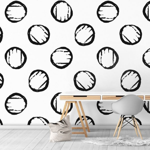 Tapeta na ścianę - Coins Design