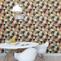 Tapeta na ścianę - Colorized Triangles