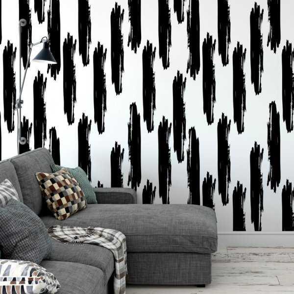 Tapeta na ścianę - Crazy Brush