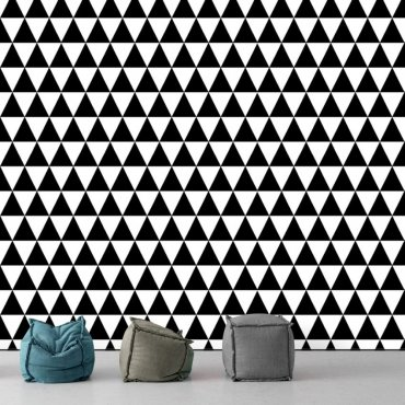 Tapeta na ścianę - Black or White