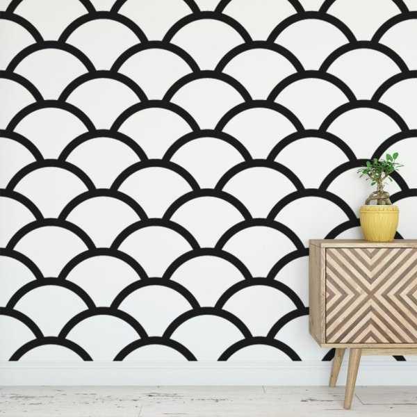 Tapeta na ścianę - CROWDED CIRCLES