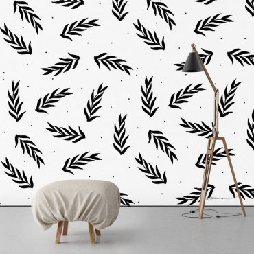 Tapeta na ścianę - LEAVES ART