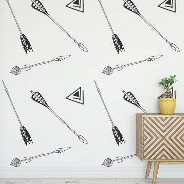 Tapeta na ścianę - DECORATIVE ARROWS
