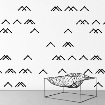 Tapeta na ścianę - MINIMALIST MOUNTAINS