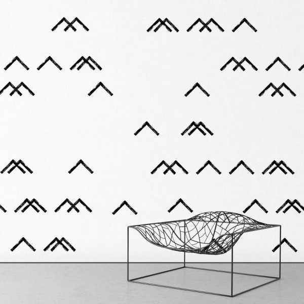 Tapeta na ścianę - MINIMALIST MOUNTAINS