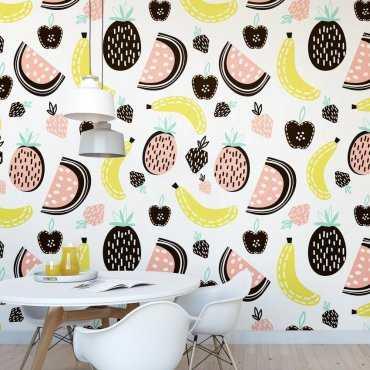 Tapeta na ścianę - FRUIT ART